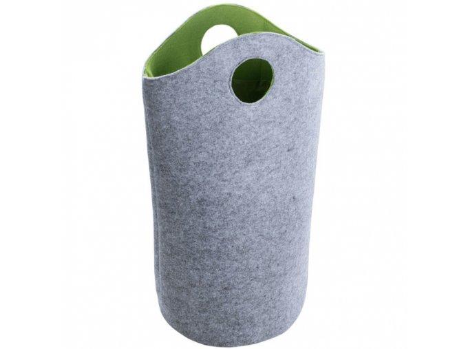 Plsťová taška na prádlo, nákupy UNIVERSAL - 2 v1, WENKO