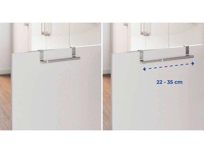 Teleskopický věšák na skříň - kuchyňský, koupelnový, WENKO