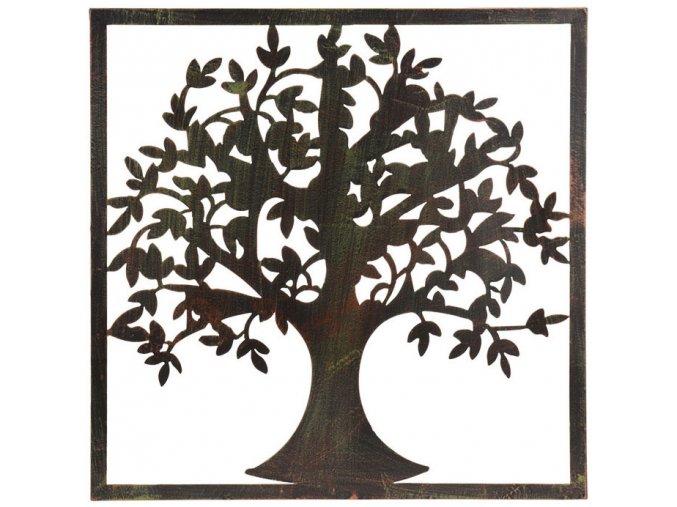 Zahradní dekorace, dekorace na zeď  - strom, 58x58 cm ProGarden