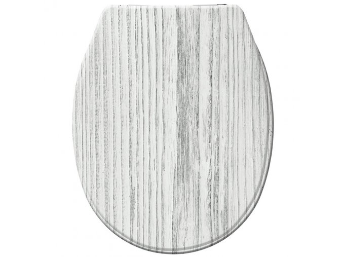 WC prkénko TUNDRA - Duroplast, s pomalým zavíráním