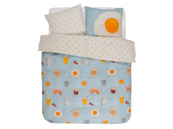 Bavlněné povlečení na postel SUNNY povlečení na dvojlůžko, saténové povlečení, 100 % bavlna - Covers & Co -  200x220+2/60x70