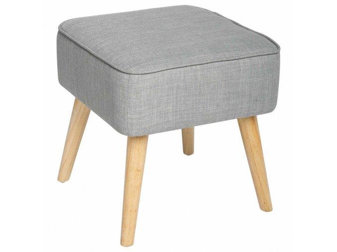 Taburet s pohodlným sedákem, čalouněná stolička se skvěle uplatní v každé místnosti