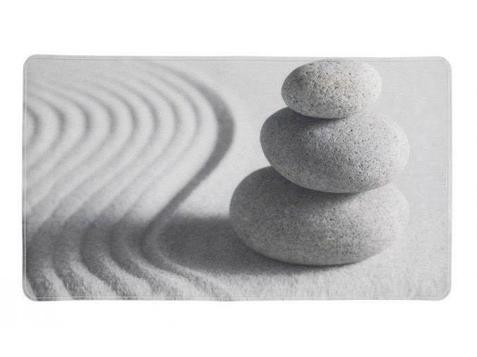Protiskluzová podložka do vany, dekorativní, s fotografií kamenů a písku, 70x40cm, SAND AND STONE WENKO