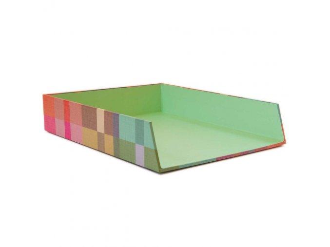 Stylový kancelářský organizér se vzory Treviso, 25x6 cm