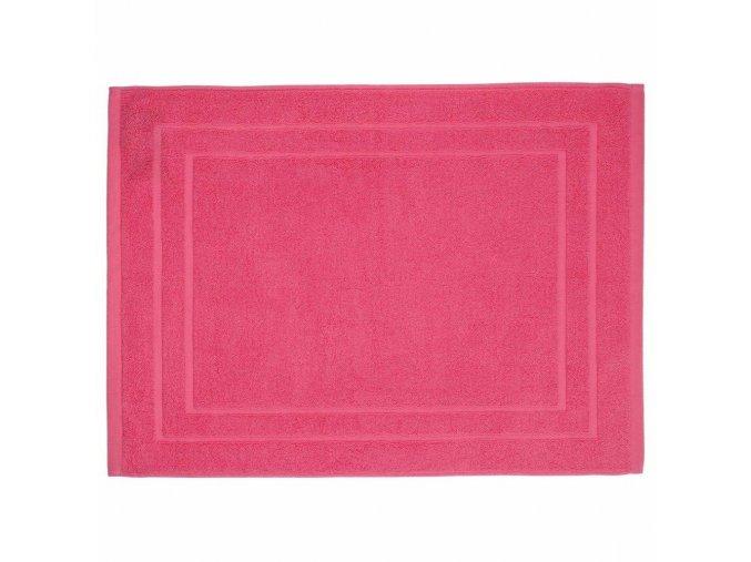 Korálový koupelnový ručník z bavlny