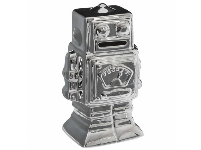 Robot prasátko, dekorativní prasátko ve tvaru robota