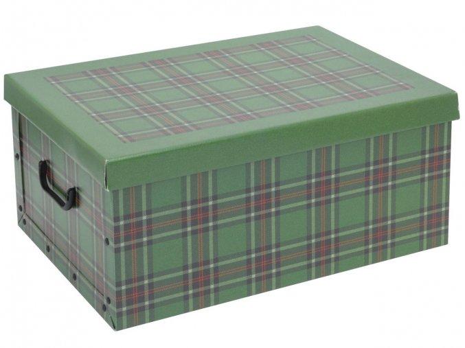 Ozdobná krabička SCOZZESE, obdélníková Emako