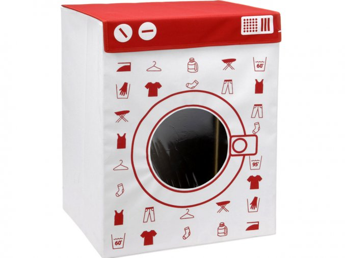 Kontejner na špinavé prádlo WASHING MACHINE, 100 l, XL