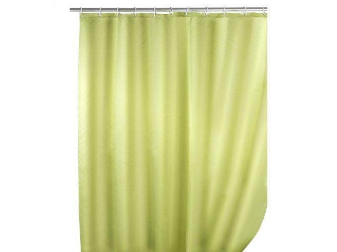 Sprchový závěs, textilní, barva světle zelená 180x200 cm, WENKO