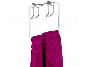 Koupelnový věšák na ručníky, Premium - nerezová ocel, WENKO