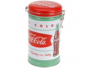 Kruhová nádoba COCA-COLA VINTAGE na kávu Emako