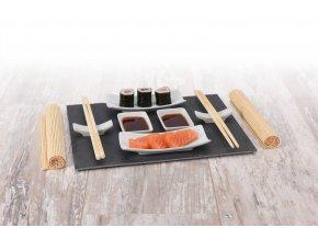 Souprava pro občerstvení, dresinky a předkrmy, sushi - 11 dílů