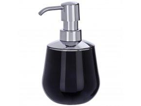 Dávkovač na mýdlo MONACO BLACK, 330 ml, WENKO