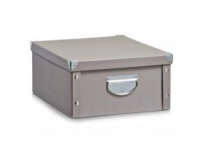 Box pro skladování, organizér TAUPE, ZELLER