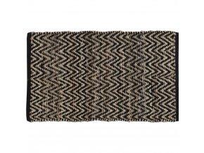 Koberec  dekorativní, rohožka z bavlny, 60x90 cm