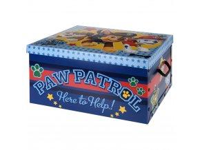 Kontejner na hračky PAW PATROL
