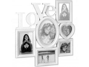 Fotorámeček LOVE, mini galerie na fotky