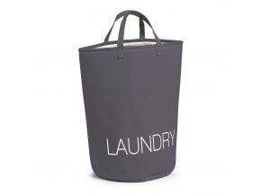 Koš na prádlo, černá barva - kontejner 50 l, ZELLER