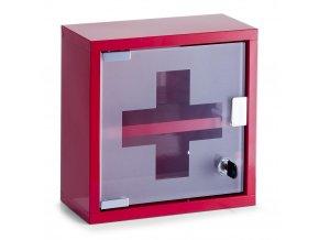 Kovová lékárnička, skříňka na léky - 2 úrovně, ZELLER