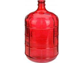 Skleněná váza RED na květy, dekorace - vysoká, 41 cm Home Styling Collection