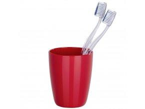 Nádobka na zubní kartáčky COCKTAIL RED, WENKO