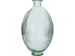 Skleněný květináč, dekorace - vysoký, STRIPE DESIGN - 21 l Home Styling Collection