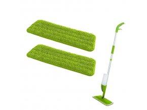 Odnímatelné návleky mopu s rozprašovačem, 2 ks, WENKO