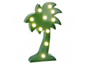 Zářící výzdoba COCONUT TREE, figurka LED