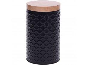 Kovová nádoba s víkem, Ø 11 cm