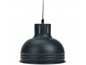 Kovové stropní svítidlo - šedá barva