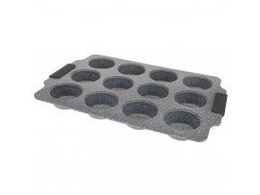 Forma na  muffiny, 12 muffinů - uhlíková ocel