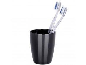 Nádobka na zubní kartáčky  COCKTAIL BLACK, WENKO