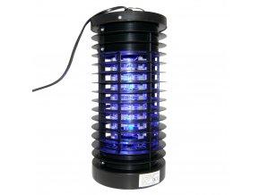 Insekticidní lampa LED 3W 27 cm černá  Emako