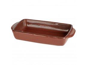 Keramické nádobí žáruvzdorné pro zapékání, barva hnědá Emako