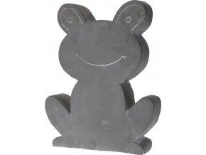 Dekorace na zahradu žaba, cement - 32 x 40 cm ProGarden