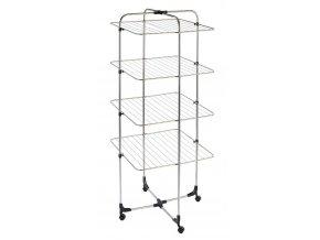 Sušák na prádlo, spodní prádlo  - skládací, samostatně stojící, 4-úrovňová, WENKO