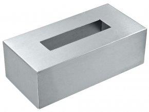 Krabice na kapesníky, nerezová ocel, WENKO