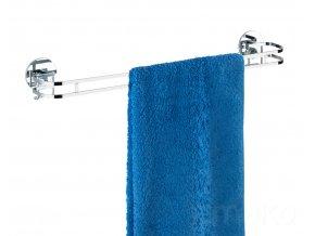 Věšák na ručníky Turbo-Loc - nerezová ocel, WENKO