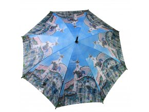 Deštník s manuálním otevíráním CITY, deštník - Ø 105 cm