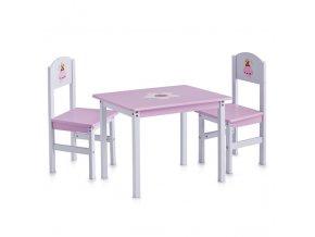 Dětský stolek PRINCESS + 2 židličky, ZELLER