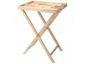 Konferenční stolek - podnos snídaňový, 2v1