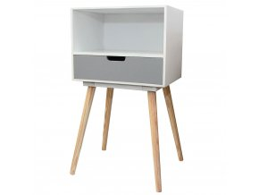 Skříňka s 1 zásuvkou -  úložný box, pomocník Emako