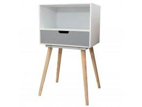 Skříňka s 1 zásuvkou -  úložný box, pomocník