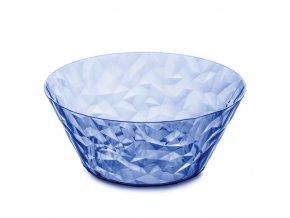 Miska CRYSTAL 2.0 - barva modrá / transparentní, 3,5 l, KOZIOL