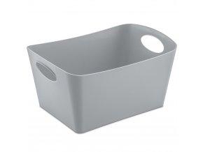 Škopek do koupelny BOXXX, kontejner, velikost M - barva šedá, KOZIOL