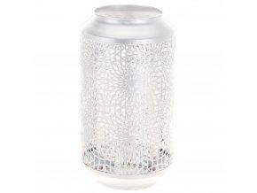 Transparentní lucernička, lucerna barva bílá  Emako