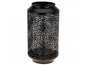 Transparentní lucernička, lucerna  barva černá