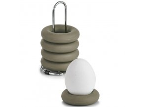 Silikonové držáky na vajíčka na kovovém podstavci - 4 ks, ZELLER