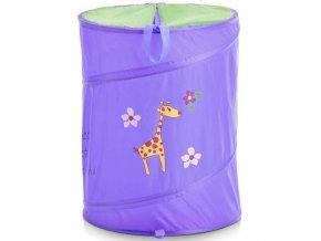 Taška na špinavé prádlo, hračky dětský motiv  - modrá barva, ZELLER