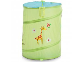 Taška na špinavé prádlo, hračky dětský motiv  - barva zelená, ZELLER